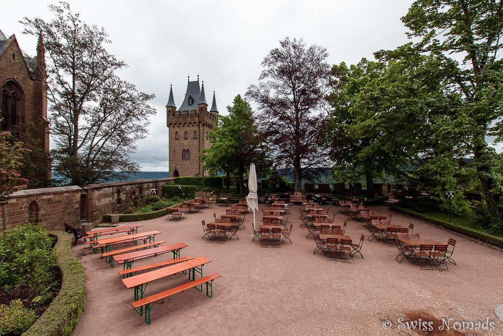 Burg Hohenzollern Gartenrestaurant