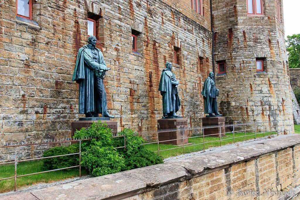 Burganlage Hohenzollern