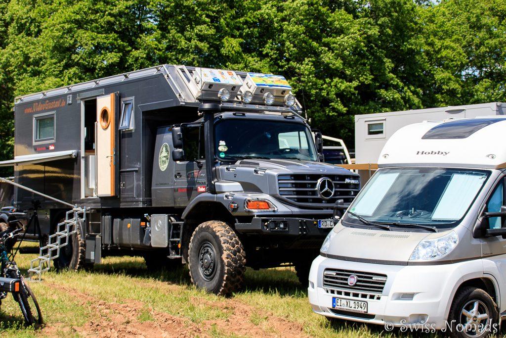 Eine riesige Vielfalt an verschiedenen Camper Fahrzeugen