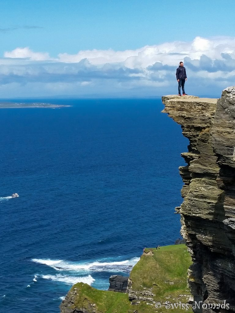 Fotoshooting auf den Cliffs of Moher