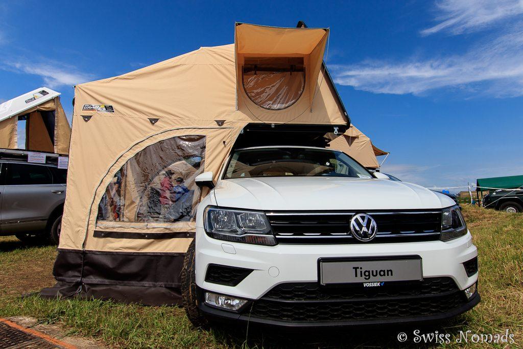 Einfache Alternative für Campen mit dem PW und Dachzelt