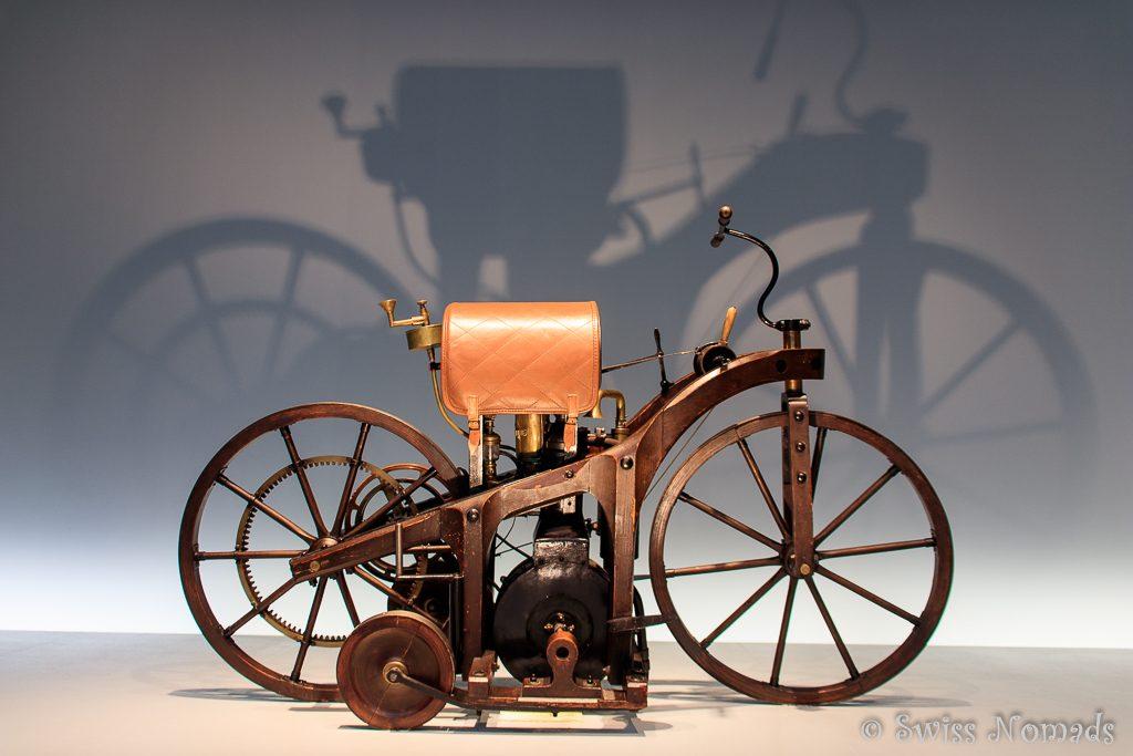 Der Reitwagen von Gottlieb Daimler und Wilhelm Maybach