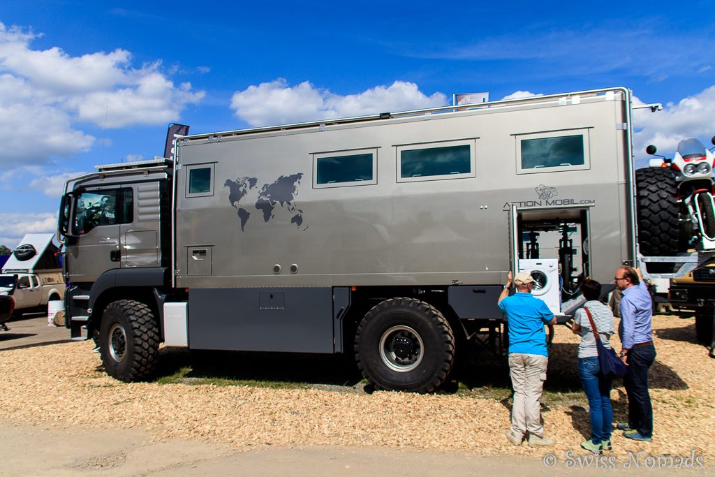Luxus Expeditionsfahrzeug auf LKW Basis mit Wohnkabine