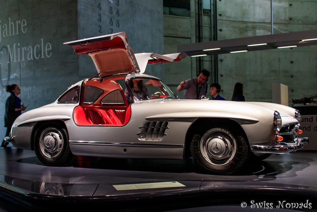 Der Mercedes-Benz 300 SL Coupé - Der Flügeltürer