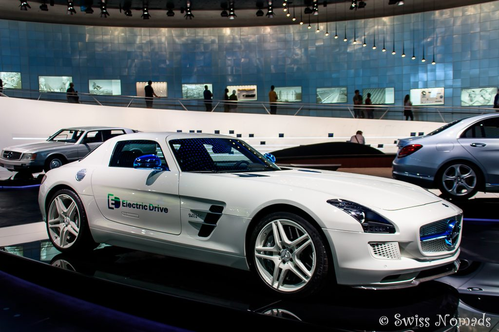 Der Mercedes-Benz SLS AMG Coupe Electric Drive