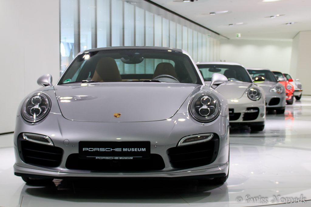 Das Porsche Museum in Stuttgart