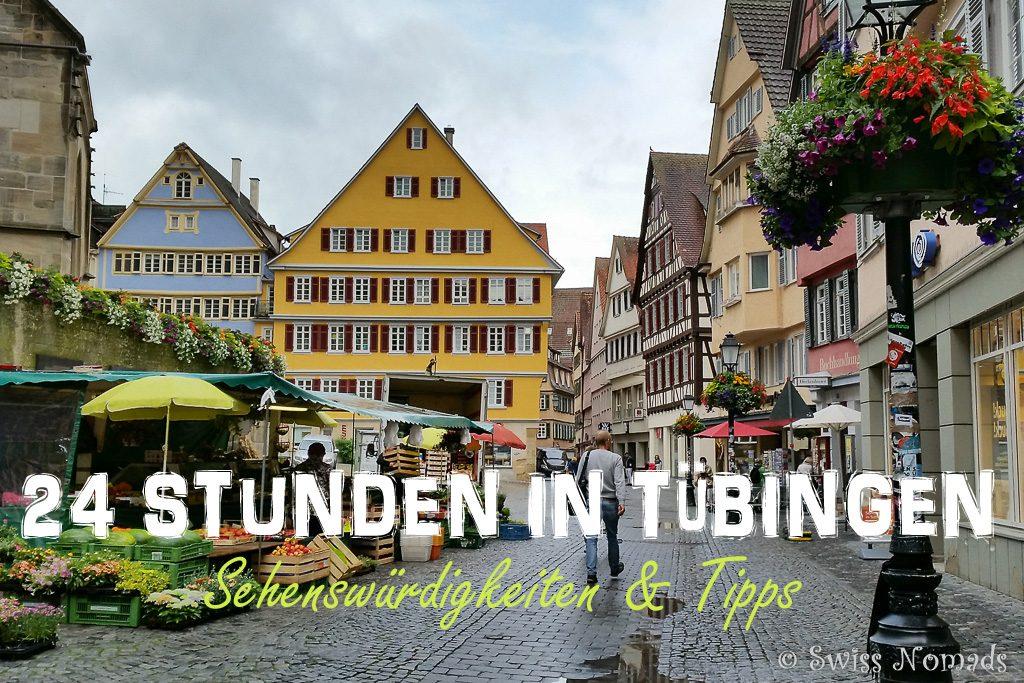 Tübingen Sehenswürdigkeiten