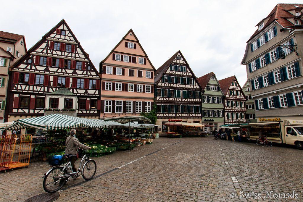 Fachwerkhäuser in Tübingen