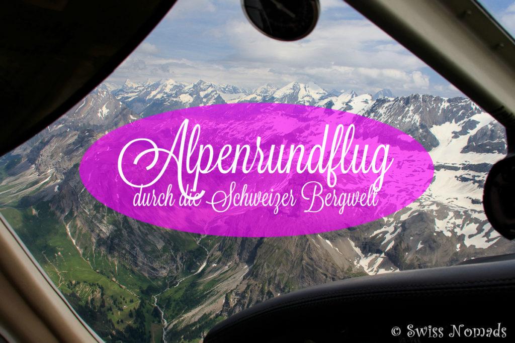 Alpenrundflug ab Bern-Belp