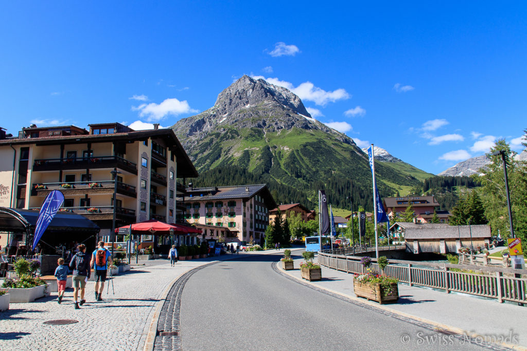Die wunderschöne Bergwelt um Lech lädt zum Wandern ein
