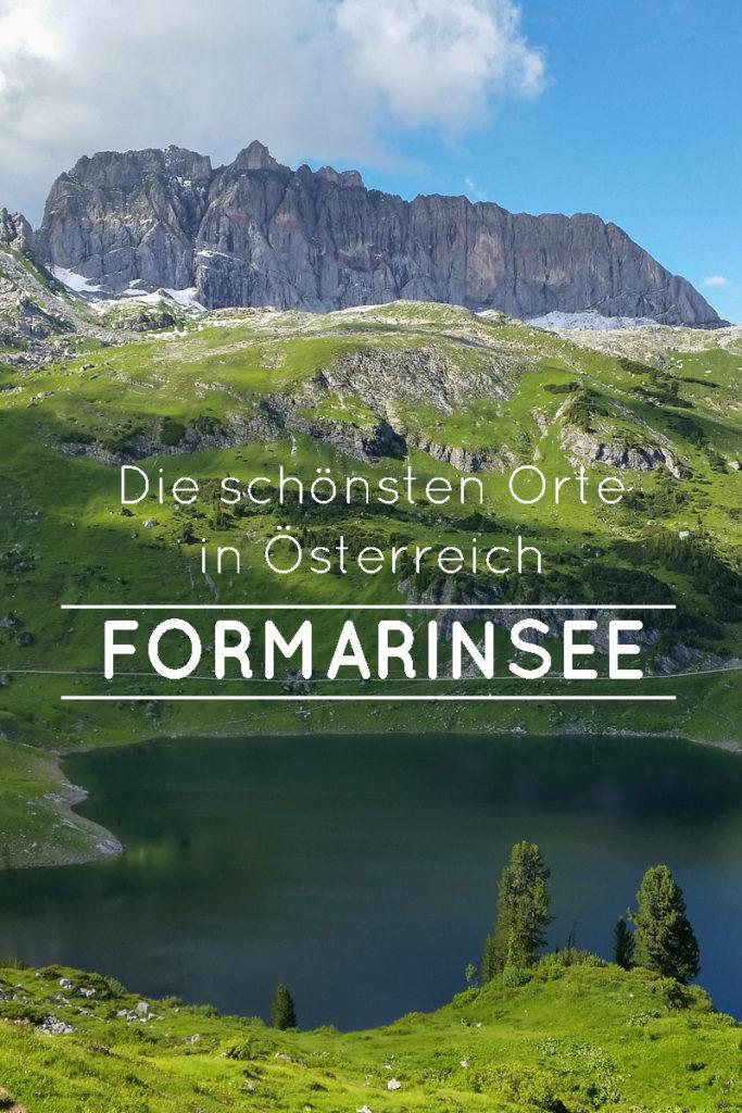 Der Formarinsee bei Lech ist einer der schönsten Orte in Österreich