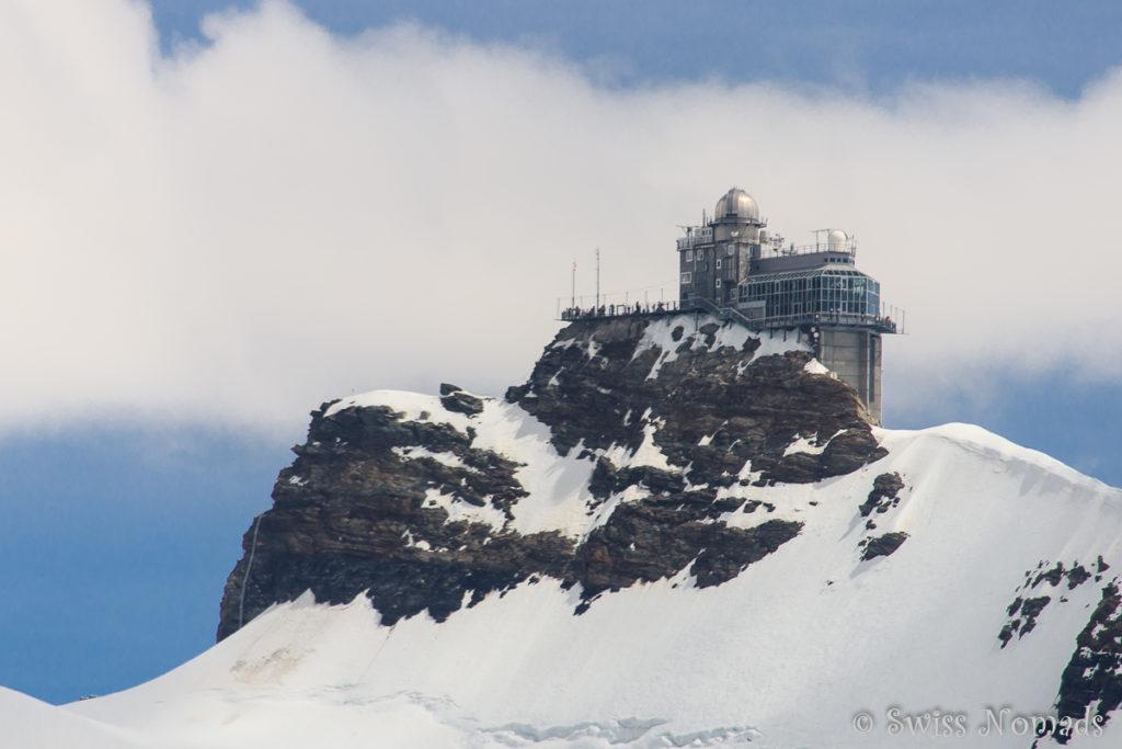 Das Sphinx-Observatorium auf dem Jungfraujoch