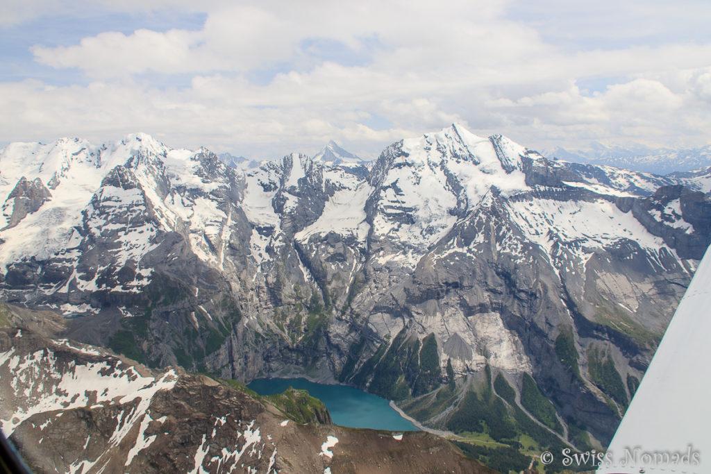 Der Öschinensee oberhalb von Kandersteg