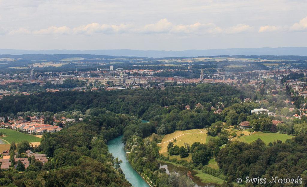 Entlang der Aare Richtung Bern