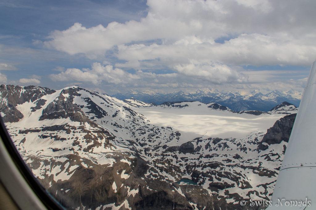 Schneelandschaft in den Schweizer Alpen