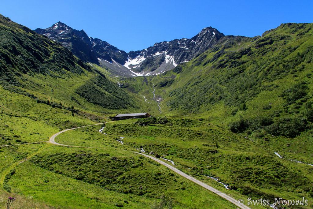 Die Alpe Wasserstuben ist einfachen von der Bergstation Sonnenkopf aus zu erreichen