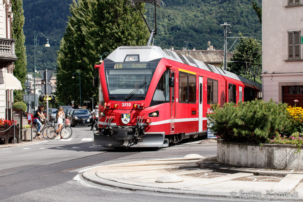 Bernina Express in Tirano