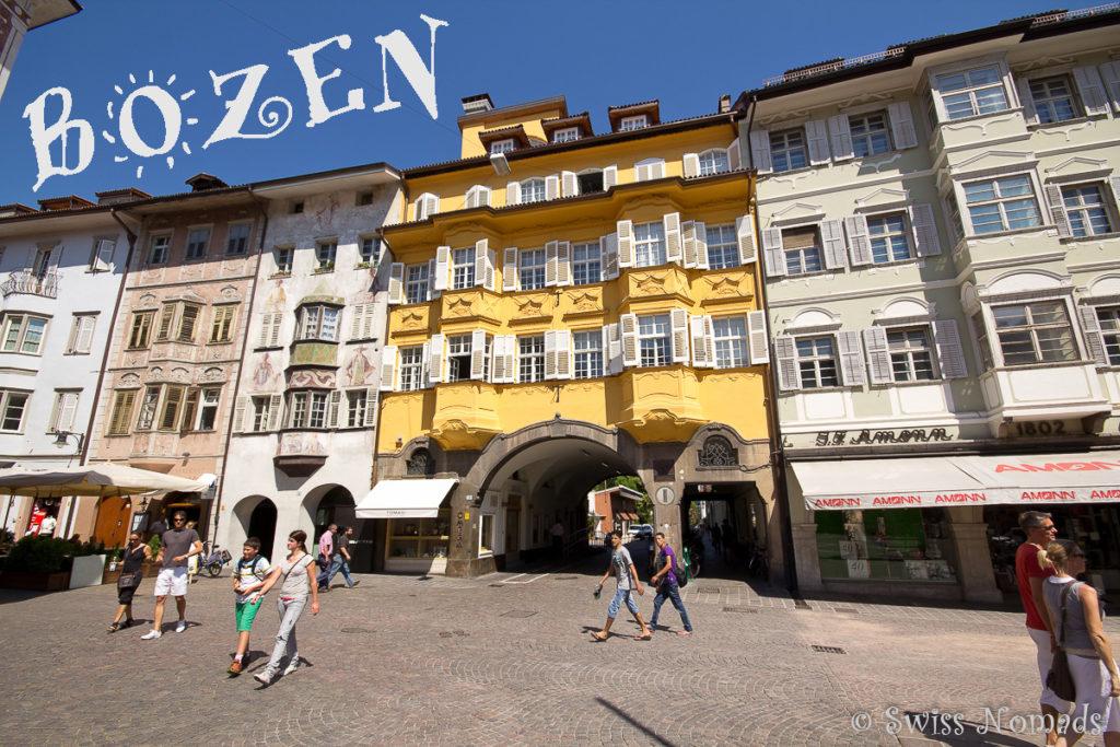 Sehenswürdigkeiten in Bozen und der Region Südtirol