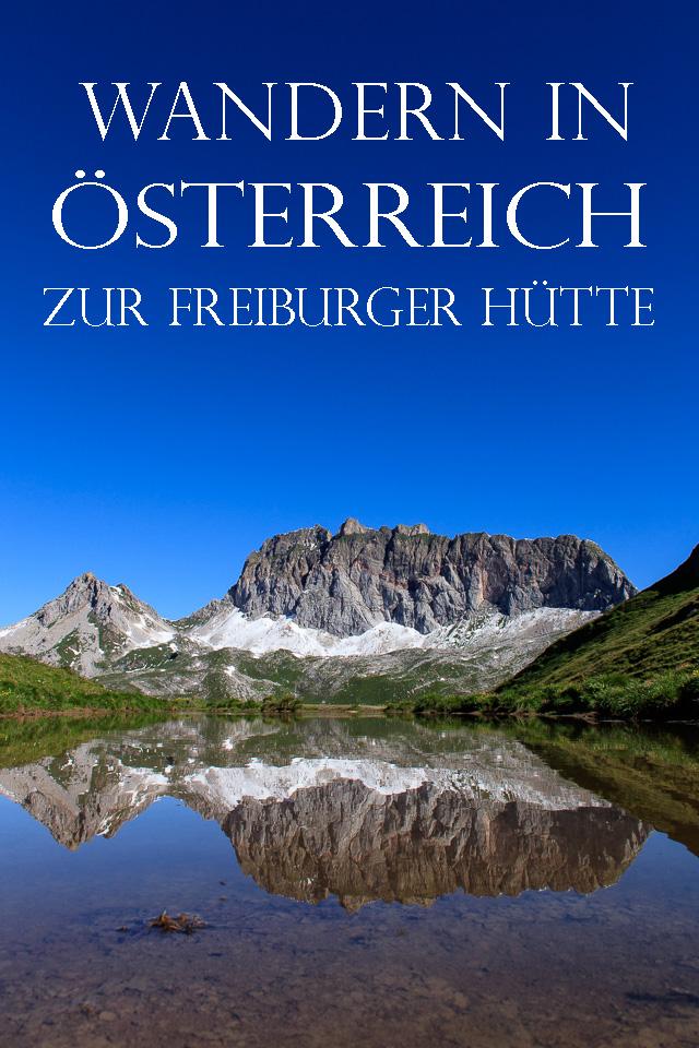 Wandern von der Freiburger Hütte auf dem Stebokweg
