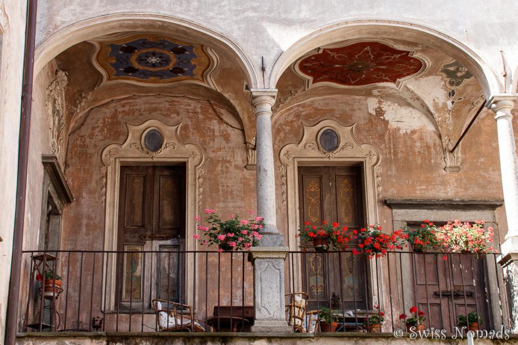 Innenhof in Tirano