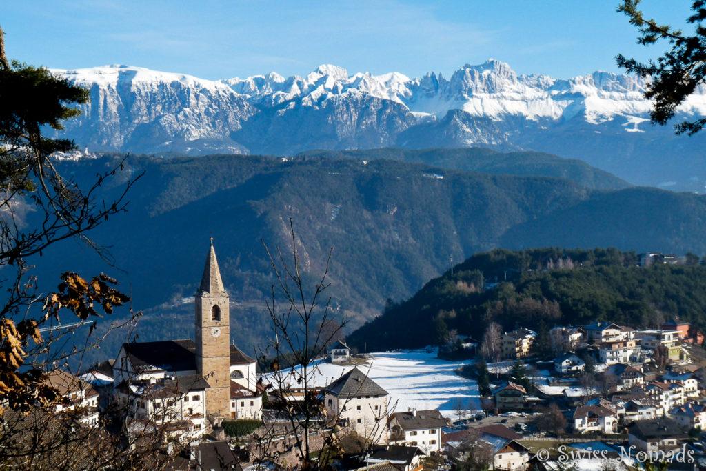 Jenesien liegt nördlich von Bozen und bietet viele Wandermöglichkeiten