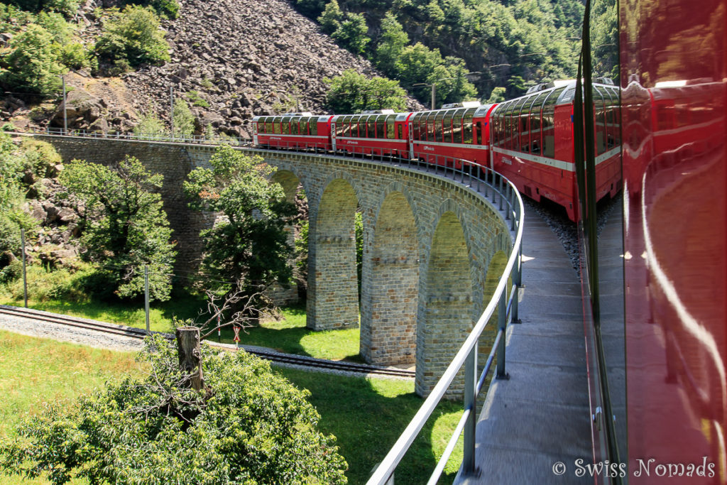 Kreisviadukt Brusio Bernina Express