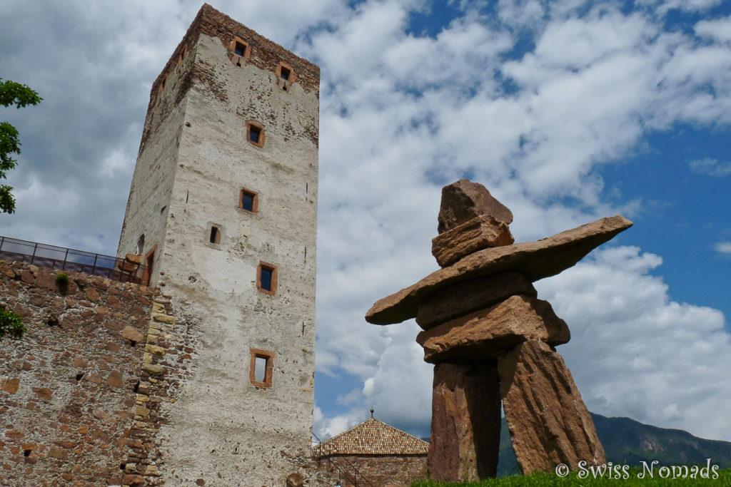 Das Messner Mountain Museum auf Schloss Sigmundskron bei Bozen