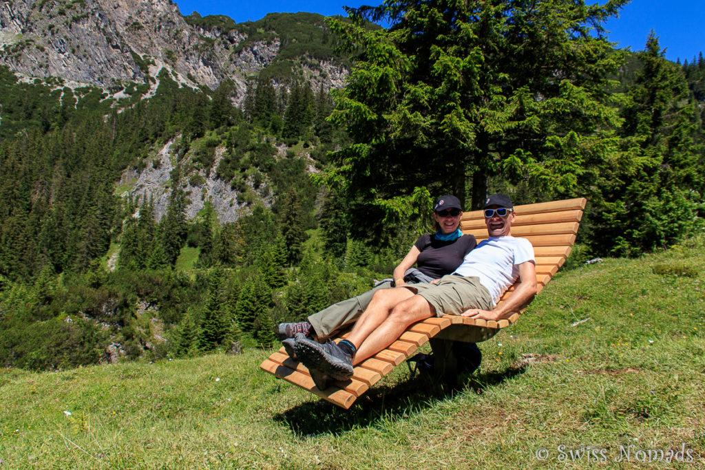 Relaxen am Stebok-Wäg