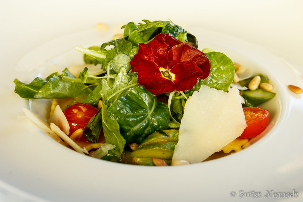 Leckerer Salat im Hotel Post in Dalaas