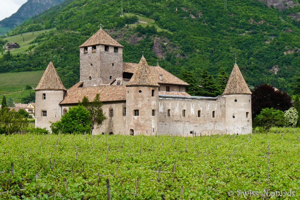 Das Schloss Maretsch ist eine Sehenswürdigkeit in Bozen