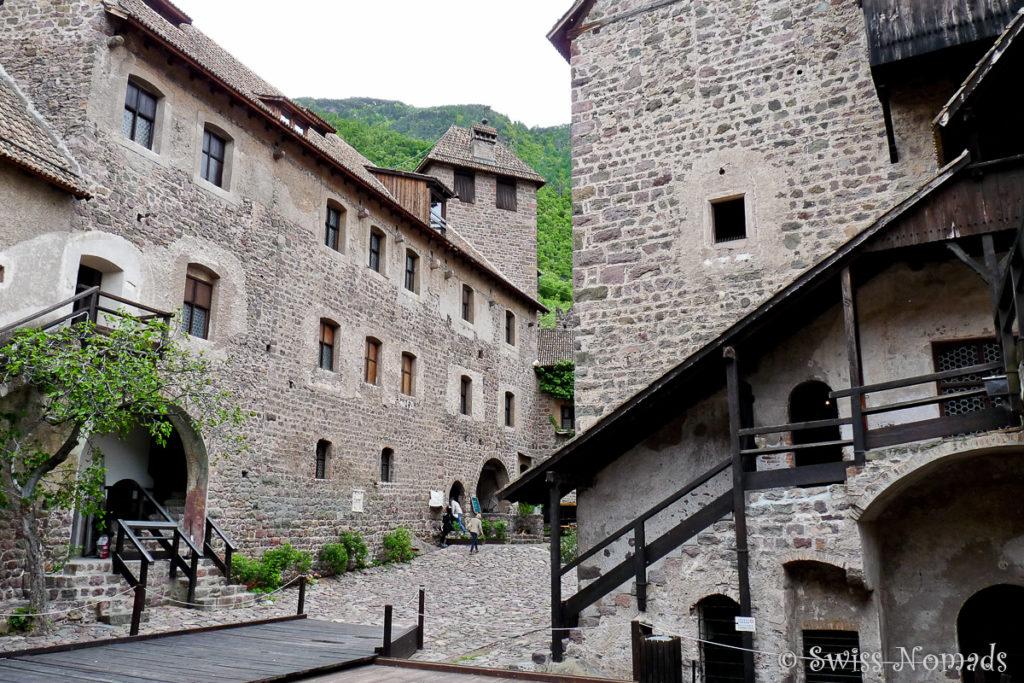 Das Schloss Runkelstein unweit von Bozen ist auch als Bilderburg bekannt