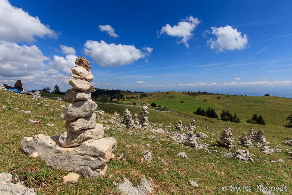 Wanderung Creux du Van Schweizer Jura