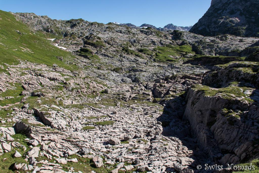 Steinernes Meer im Vorarlberg