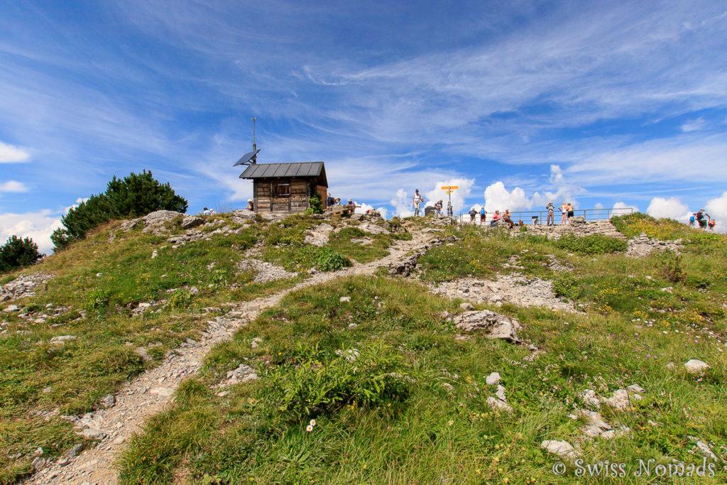 Rundwanderung zum Aussichtspunkt Daube oberhalb der Schynigen Platte