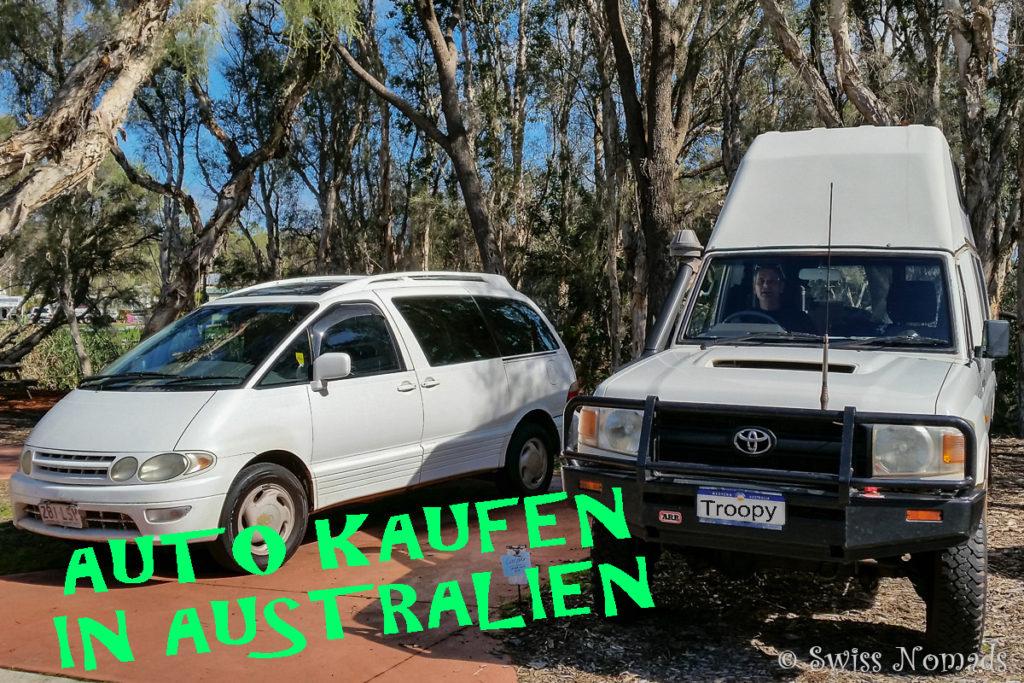 Auto kaufen in Australien