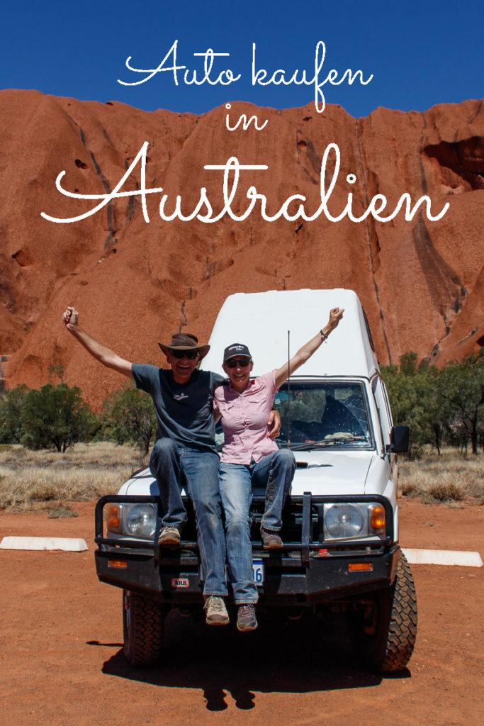 Wie funktioniert das Auto kaufen in Australien