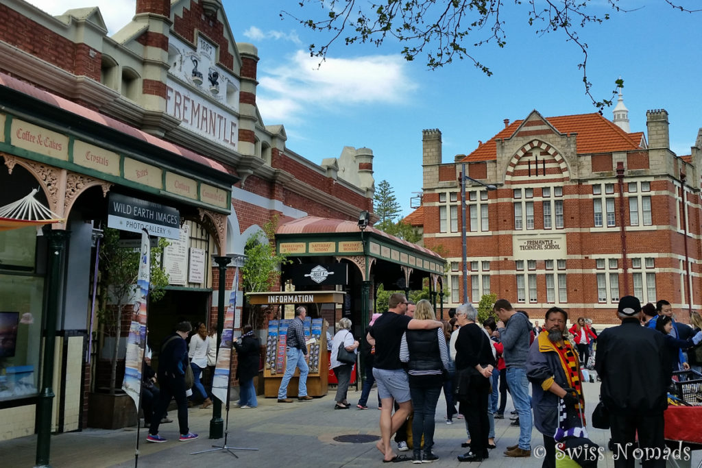 Fremantle Markets in Australien