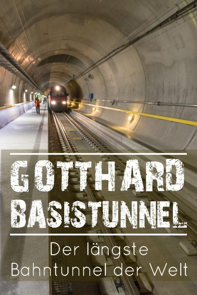Mit dem Gottardino durch den Gotthard Basis Tunnel in der Schweiz