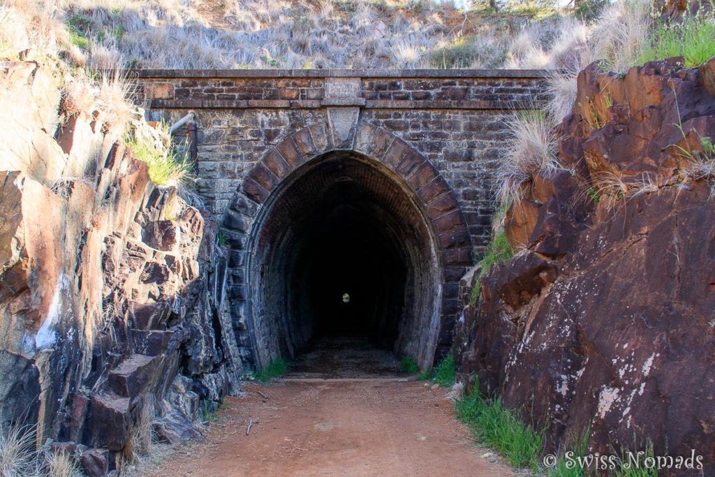 Eisenbahntunnel John Forrest Nationalpark