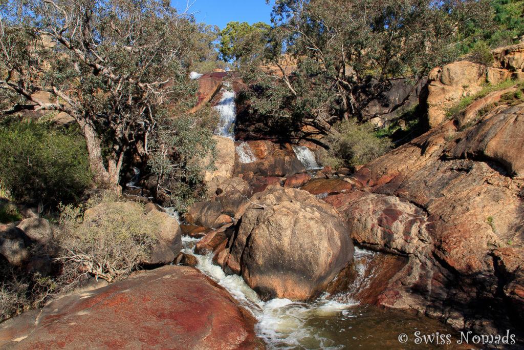 Nahaufnahme Wasserfall Australien