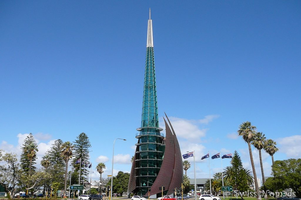 Bell Tower in Perth