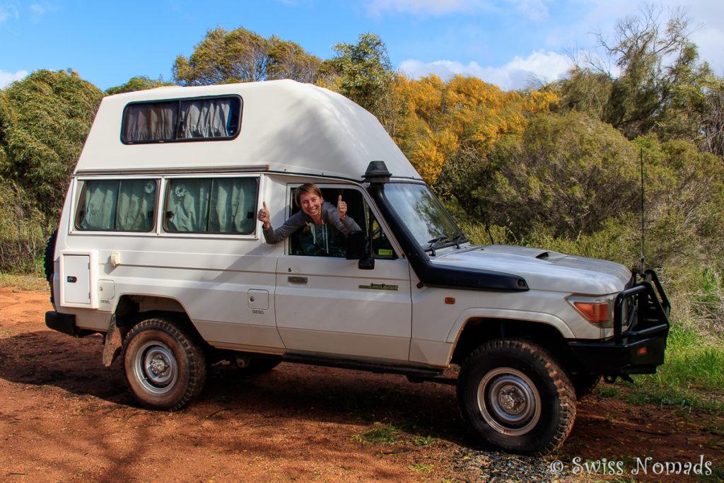 Eadine Springs Camping von Perth nach Kalgoorlie