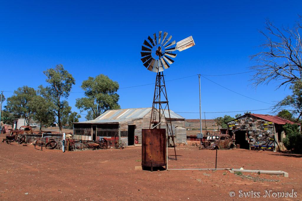 Die Geisterstadt Gwalia aus der Goldrauschzeit in Westaustralien