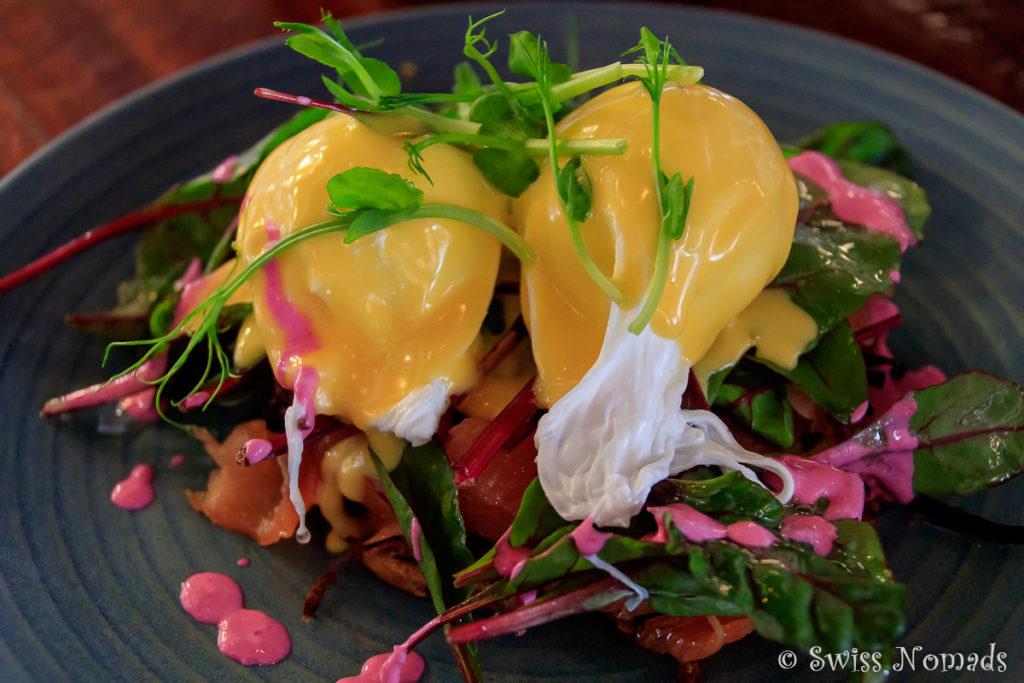 Das Frühstück im Gesha Café hat uns sehr gut geschmeckt