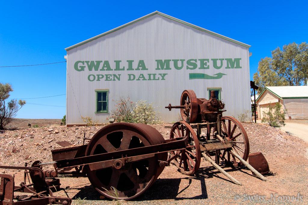 Das Gwalia Museum beherbergt viele alte Gerätschaften aus der Goldrauschzeit