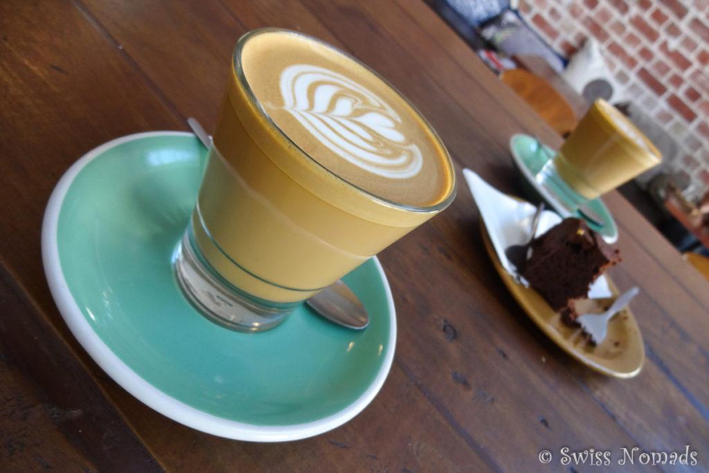 Für uns ist das Hush Café eines der der besten Cafés in Fremantle