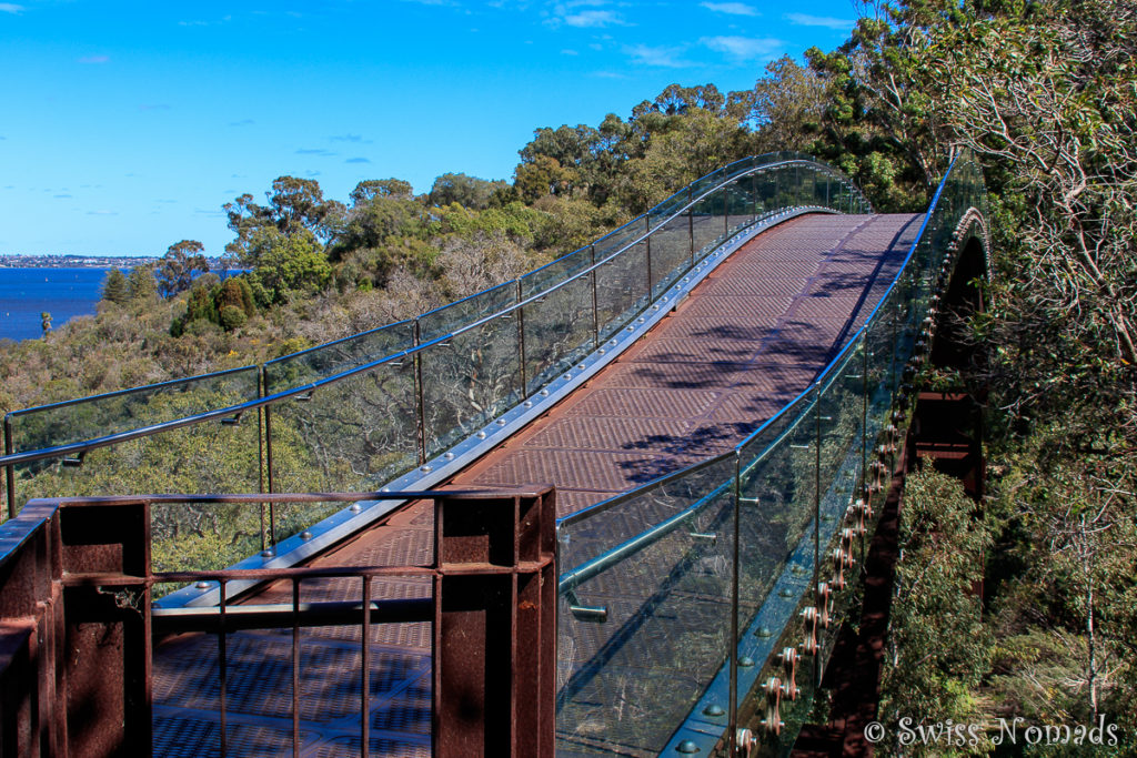Brücke im Kings Park in Perth
