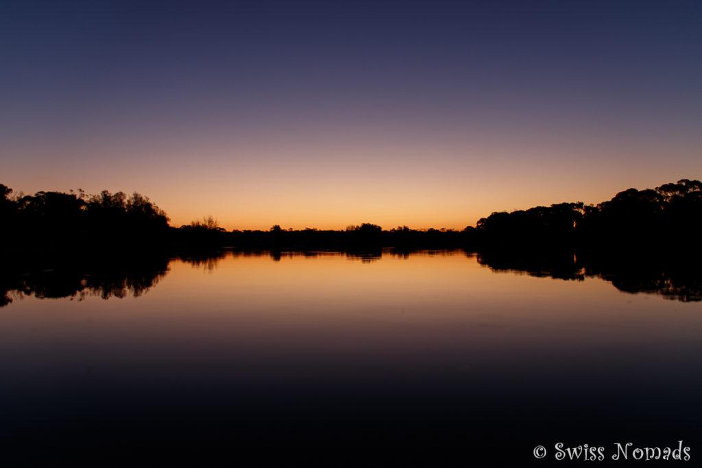 Sonnenuntergang Lake Douglas Kalgoorlie