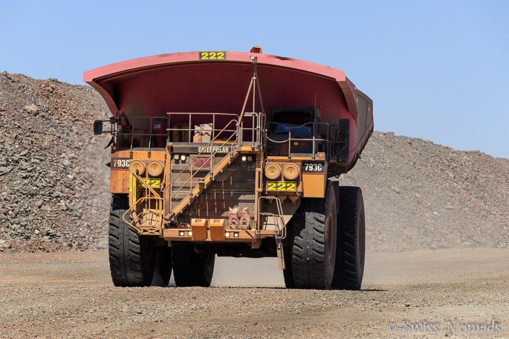 Minenfahrzeug in der Super Pit Kalgoorlie