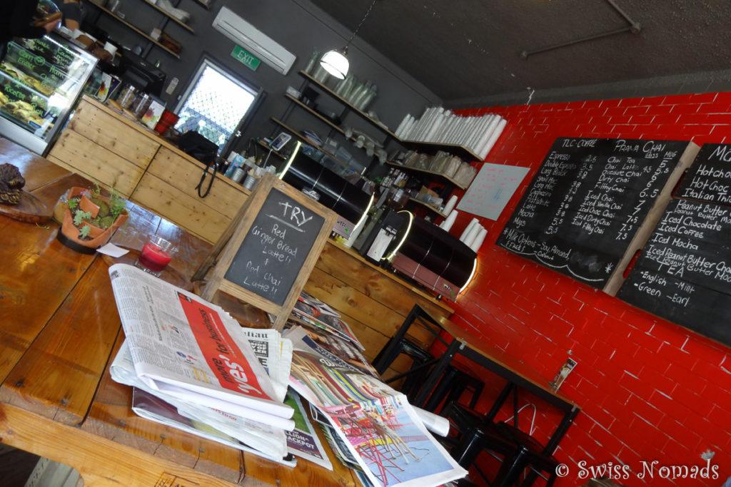 Das Little Concept Café findest du gleich neben dem bekannten Laden von Galati